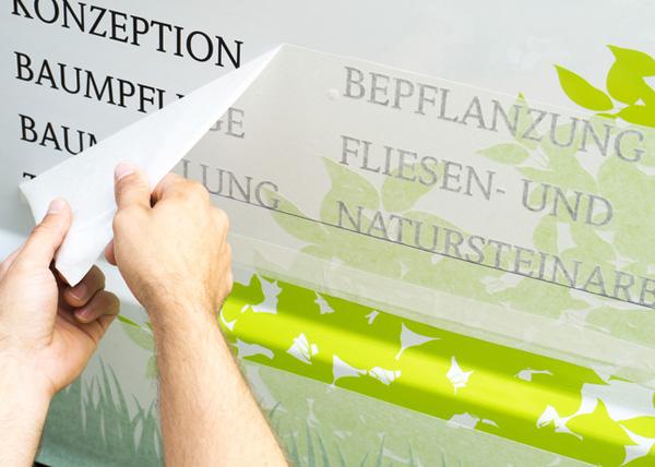 Beschriftung Leipzig